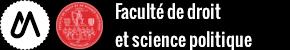 Faculté de Droit et Science politique Logo